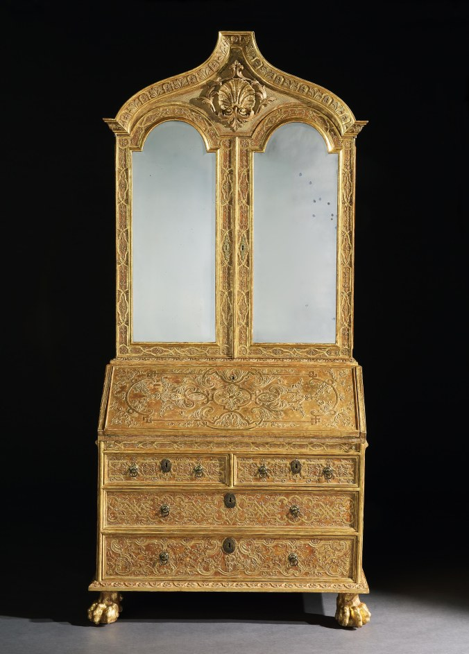 George I Giltwood Cabinet attributed to James Moore for the Portuguese Royal Court