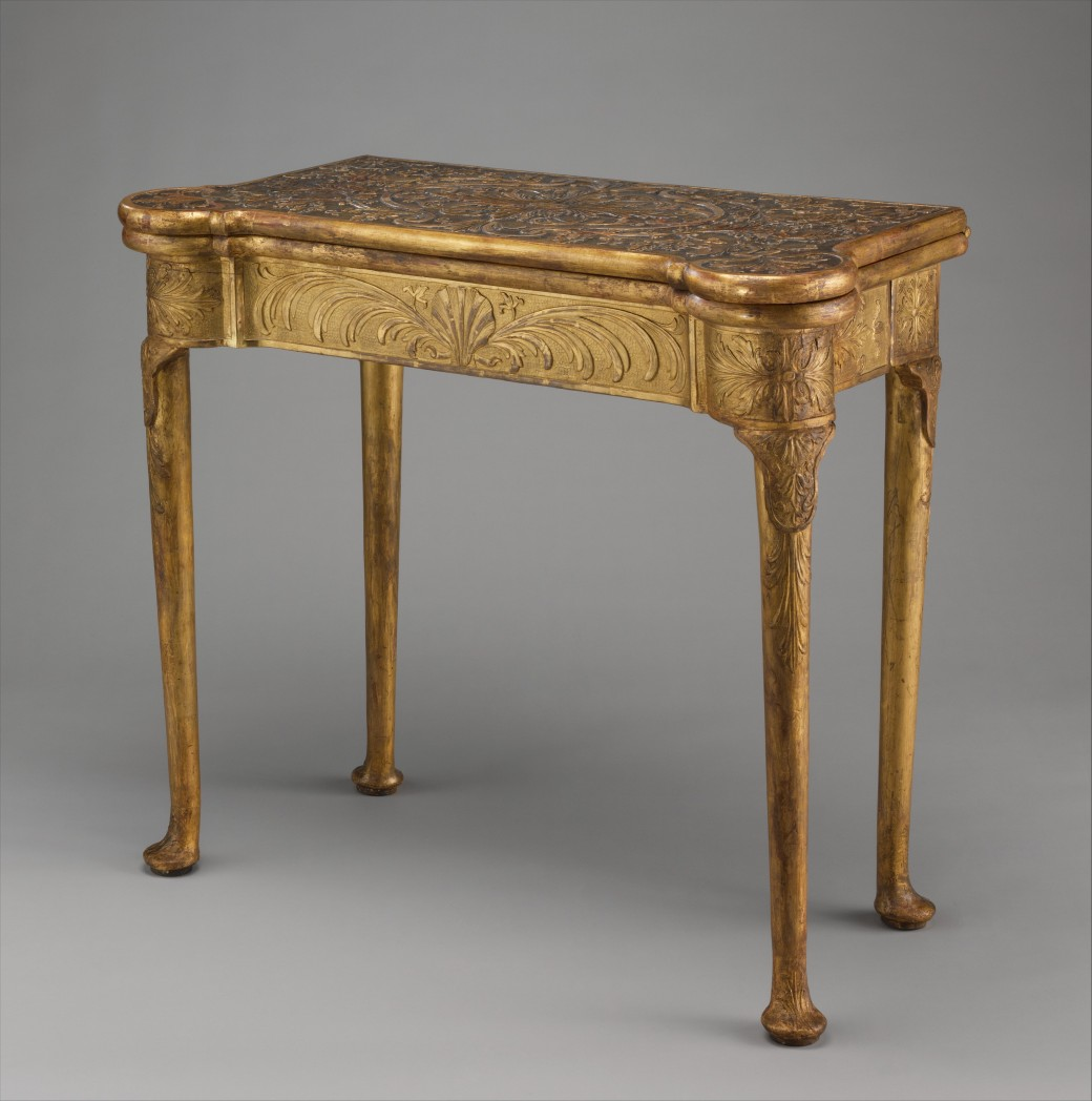 Met Museum Card Table