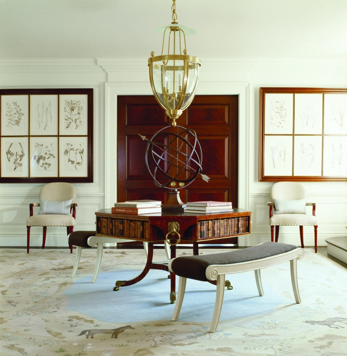 2. Private Residence - Middleburg, Virginia - Interior Design by Thomas Pheasant - photo by Gordon Beall (1)
