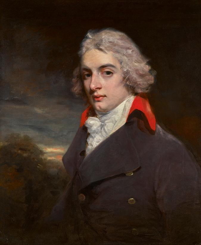 John Hoppner R.A., Portrait of Sir John Osborn (1772-1848)  Mackinnon Fine Furniture CollectionM07.62