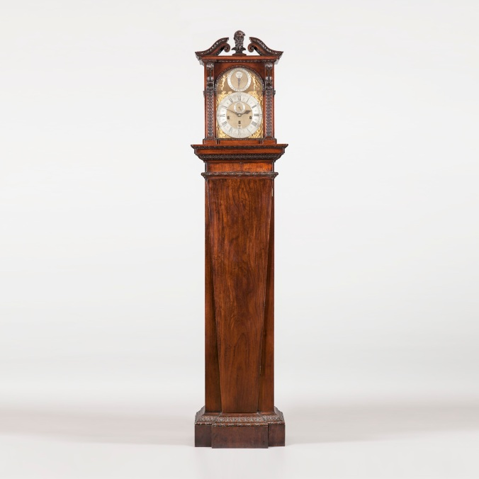 A George II Mahogany Longcase Clock Mackinnon Fine Furniture Collection