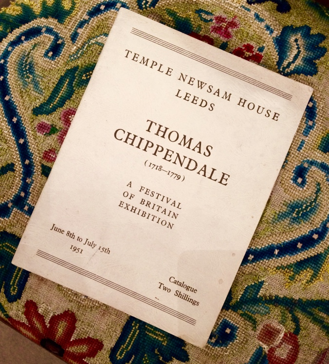 Thomas Chippendale (1718-1779): A Festival of Britain Exhibition