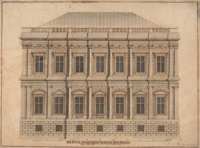Banqueting House, White Hall: Front Elevation by Thomas Forster Yale Center for British Art