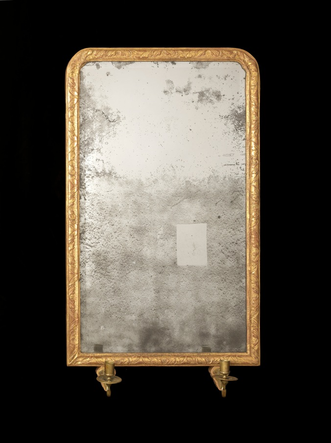 A Queen Anne Gilt Gesso Mirror Mackinnon Fine Furniture Collection