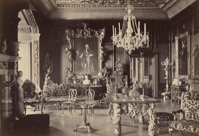 Warwick Castle, the Cedar Drawing Room, No. 1