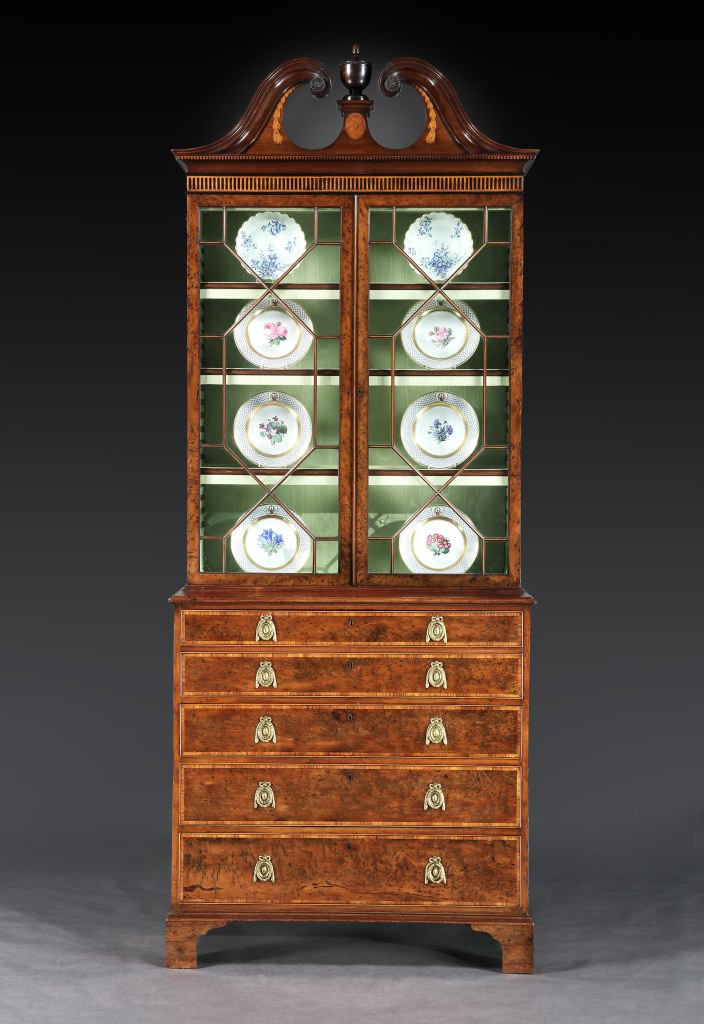 A George III Yew Cabinet attributed to Mayhew & Ince Mackinnon Fine Furniture Collection