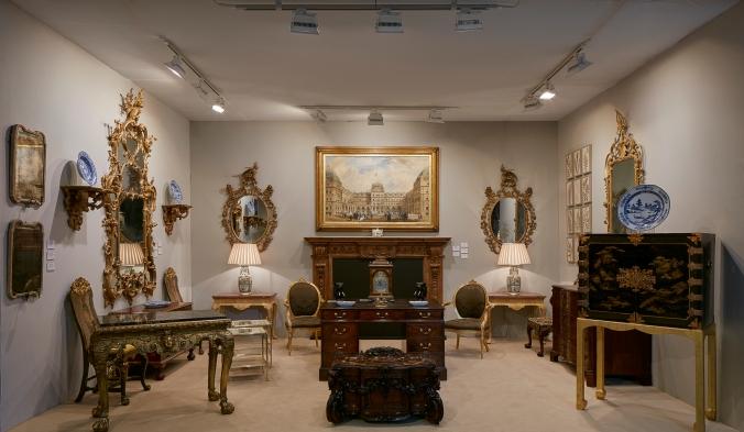 Mackinnon Fine Furniture at the LAPADA Art & Antiques Fair