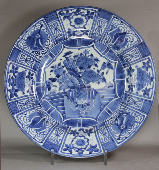 An Early 18th Century Japanese Blue and White Charger Mackinnon Fine Furniture Collection