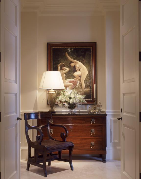 Hallway Chair Vignette