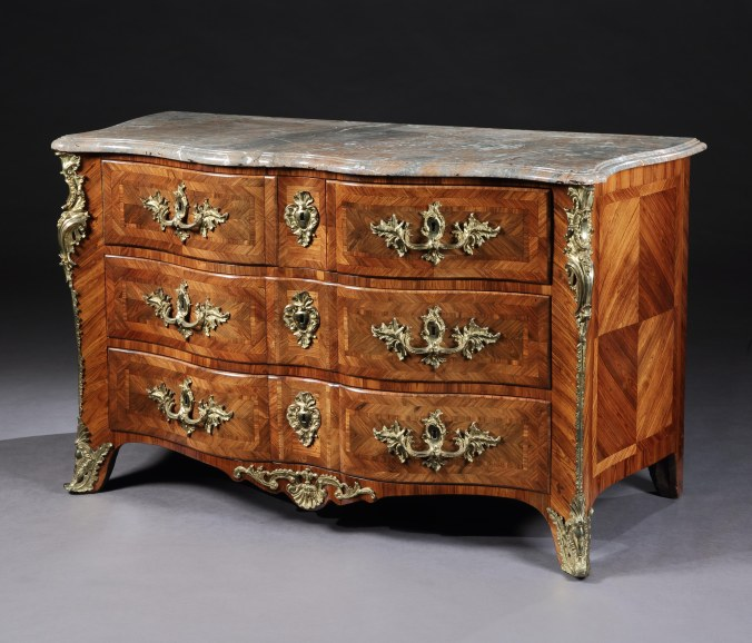 A Louis XV Bombe Commode in the manner of Franocis Garnier Mackinnon Fine Furniture Collection