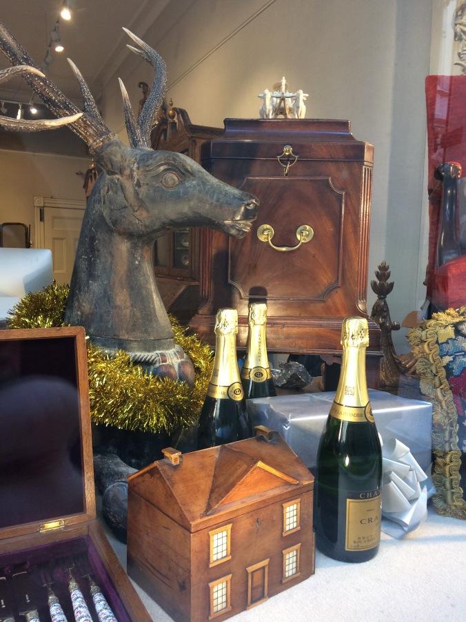 Mackinnon Fine Furniture Holiday Window 2018