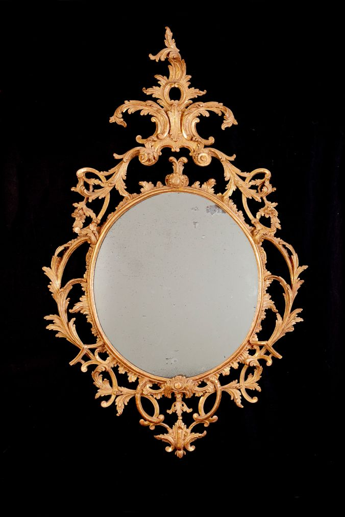 A George III Giltwood Mirror attributed to William & John Linnell Mackinnon Fine Furniture Collection
