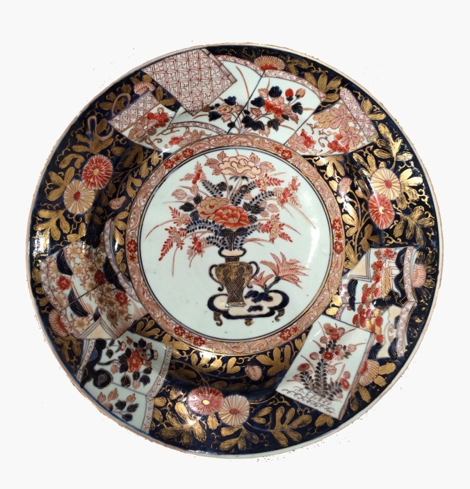 A Japanese Imari Charger of Large Scale Mackinnon Fine Furniture Collection