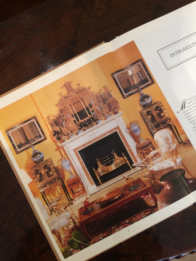 Mallett's Great English Furniture Interior Photograph